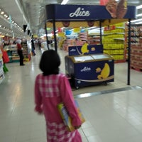 Photo taken at Carrefour by umminya a. on 7/16/2017