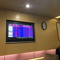 Photo taken at 華航貴賓室 China Airlines VIP Lounge by Kevin K. on 1/8/2017