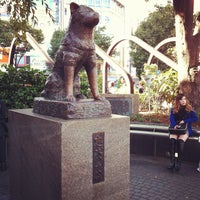 Photo taken at Hachiko Statue by urmila on 10/26/2012