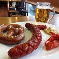 Photo taken at Pilsner Urquell Original Restaurant by Satoshi N. on 9/21/2013
