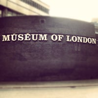 Photo taken at Museum of London by Maxim B. on 1/13/2013
