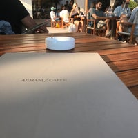 Photo taken at Armani Caffè by Feras on 8/19/2018