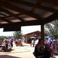 Photo taken at Clearfork Food Park by WES G. on 4/28/2013