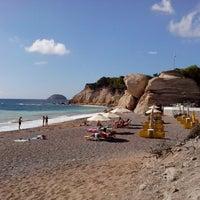Photo taken at Fourni Beach by Dmitrii B. on 9/17/2013