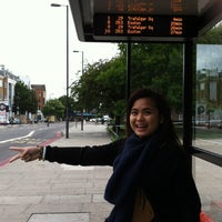Photo taken at Bus Stop X by Arden R. on 8/17/2013