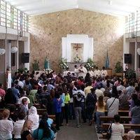 Photo taken at Iglesia Corpus Christi by Miguel B. on 3/18/2013