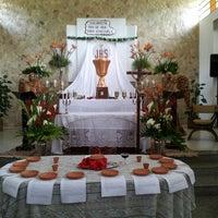 Photo taken at Iglesia Corpus Christi by Miguel B. on 3/29/2013