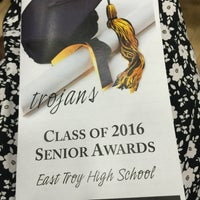 Photo taken at East Troy High School by Sybil D. on 6/5/2016