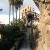 Photo taken at Timber Mountain Log Ride by Matthew N. on 12/24/2012