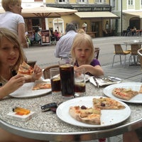 Photo taken at Pizzeria Nudelini by Hijrayani on 5/19/2013