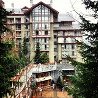 Photo taken at The Westin Resort & Spa, Whistler by Anna T. on 4/12/2013