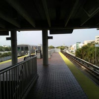 Photo taken at MDT Metrorail - South Miami Station by Diana R. on 6/18/2016