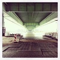 Photo taken at Severinsbrücke by David H. on 12/21/2012