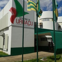 Photo taken at Prefeitura Municipal de Uruaçu by Marcos Antonio d. on 2/28/2014