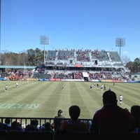 Photo taken at WakeMed Soccer Park by Michael P. on 2/24/2013