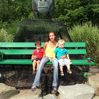 Photo taken at Binghamton Zoo at Ross Park by Necia D. on 7/21/2013