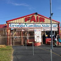 Photo taken at Augusta Fair Grounds by Chris B. on 10/20/2012