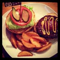 Photo taken at Sakura Burger by Yuka on 12/15/2012