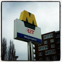 Photo taken at Metrostation Meijersplein by Debora d. on 2/19/2013