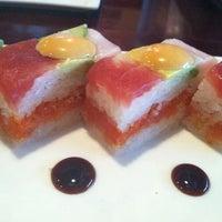 Photo taken at Sakura Japanese Steak House by Lisa S. on 3/22/2013