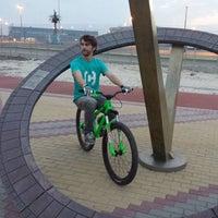 Снимок сделан в Набережная Олимпийского парка пользователем Alena K. 4/19/2014