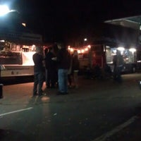Photo taken at La Mesa Food Truck Gathering by Amber C. on 11/3/2012