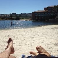 Photo taken at Riyada Beach @ Westin Lake Las Vegas by Vinnie M. on 10/19/2013