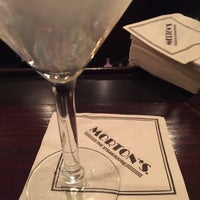 Photo taken at Morton's Steakhouse by Greg R. on 1/22/2015