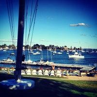 Photo taken at Larchmont Yacht Club by Sloane B. on 9/23/2012