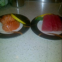 Photo taken at Sushi Bay by Jaky S. on 11/8/2012