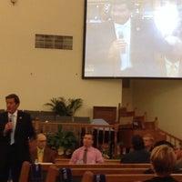 Photo taken at St. Stephens C.M.E. Church by Glen F. on 10/21/2014
