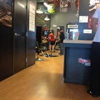 Photo taken at Sport Clips Haircuts of Coppell by Christian C. on 8/25/2013