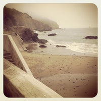 Photo taken at China Beach by Marie W. on 9/29/2012