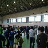 Photo taken at 大崎市田尻総合体育館 by billancourt92 on 10/29/2016
