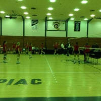 Photo taken at Quinnipiac Athletic and Recreation Center by Joe B. on 10/30/2013
