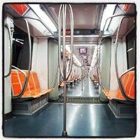 Photo taken at Metro Anagnina (MA) by Massimiliano on 7/23/2013