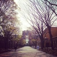 Photo taken at Aoyama Gakuin Univ. Sagamihara Campus by wintermelon on 4/1/2013