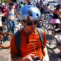 Photo taken at Ciclavia Pitstop by Dan R. on 4/22/2013