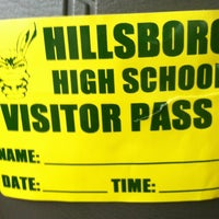 Photo taken at Hillsboro High School Recycling Drop-off Site by Cella J. on 3/5/2013