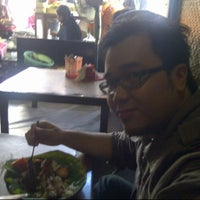 Photo taken at Gudeg Yu Djum by Nicholas P. on 10/4/2012