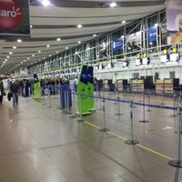 Photo taken at Comodoro Arturo Merino Benitez International Airport (SCL) by Benjamín R. on 9/15/2012