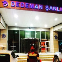 Photo taken at dedeman otel havuz by Rohat K. on 7/2/2015