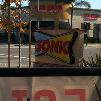 Photo taken at SONIC Drive In by Anthony P. on 1/3/2013