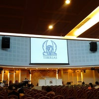 Photo taken at Gereja Tiberias Indonesia - Gading Nias by Leslie M. on 9/23/2012
