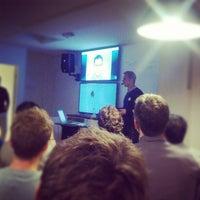 Photo taken at Tradeshift by Rasmus B. on 10/25/2012
