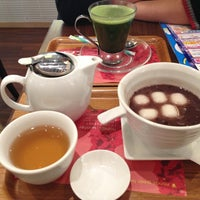 Photo taken at nana's green tea イオン熱田SC店 by Yasuko H. on 12/24/2012