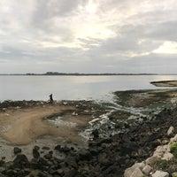 Photo taken at Pantai Lido by Zurin M. on 2/15/2017
