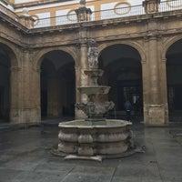 Photo taken at Patio de la fuente Rectorado by Taras A. on 3/5/2018