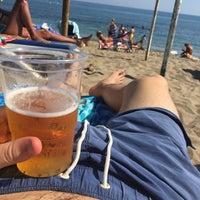Photo taken at Playa Luna Beach by Steff D. on 7/25/2017