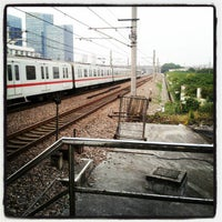 Photo taken at Xinzhuang Metro Station by Stupid77 I. on 10/23/2012